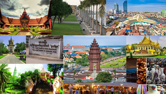 Attractions for visiting in Phnom Penh